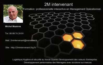 2M Intervenant - carte de visite